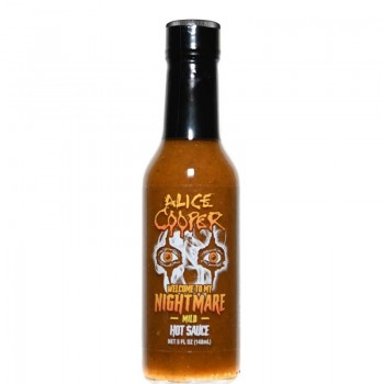Alice Cooper Welcome To My Nightmare Mild Hot Sauce