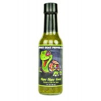 Angry Goat Pepper Co. Hippy Dippy Green Avocado & Kiwi Hot Sauce