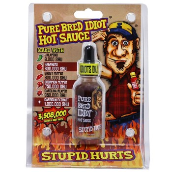 Pure Bred Idiot Hot Sauce
