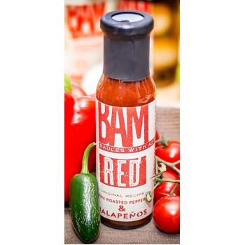 BAM! Red Ketchup with Fire Roasted Peppers & Jalapenos