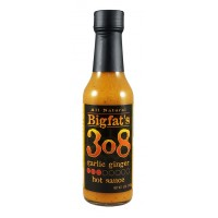 BigFat's 3o8 Garlic Ginger Hot Sauce