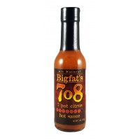 BigFat's 7o8 7 Pot Citrus Hot Sauce