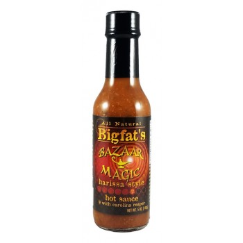 BigFat's Bizarre Magic Harrisa Style Hot Sauce
