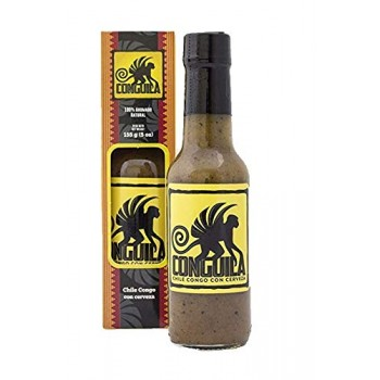 Blue Zone Conguila Hot Sauce with Imperial Lager!
