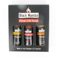 Black Mamba Hot Sauce Gift Set - African Fire