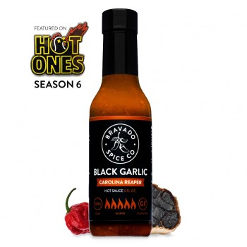 Bravado Black Garlic & Carolina Reaper Hot Sauce
