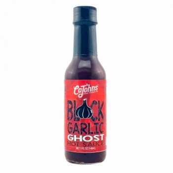 Cajohn's Black Garlic Ghost Hot Sauce