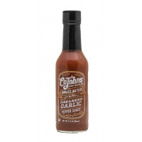 Cajohn's Triple Garlic Habanero Hot Sauce