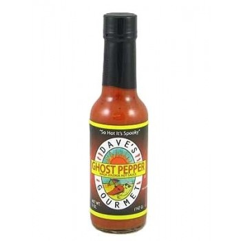"Dave's Insanity ""Ghost Pepper"" Sauce"