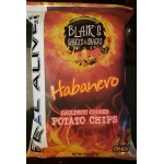 Blair's Habanero Cauldron Cooked Potato Chips X 3 bags