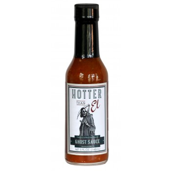 Hotter Than El Ghost Pepper Sauce