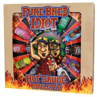 Pure Bred Idiot Hot Sauce Roulette Game