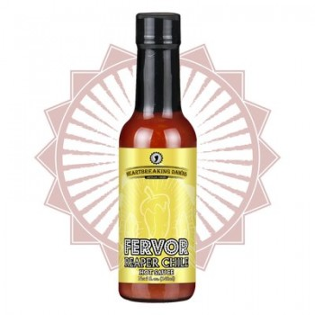 Heartbreaking Dawn's Fervor Carolina Reaper Chile Hot Sauce