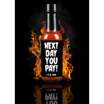 Hellfire Next Day You Pay! Hot Sauce
