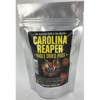 Who Dares Burns! Carolina Reaper Whole Dried Pods
