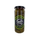 Hot-Headz! Pickled Nacho Sliced Jalapeno Peppers