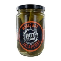 Hot-Headz! Whole Pickled Jalapeno Peppers