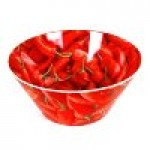 Small Chilli Design Bowl