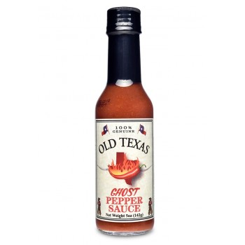 Old Texas Ghost Pepper Sauce