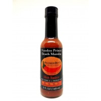 Puckerbutt Pepper Company Voodoo Prince Death Mamba Hot Sauce