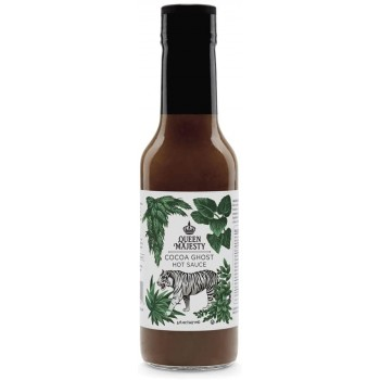 Queen Majesty Limited Edition Charcoal Ghost Hot Sauce