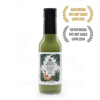 Queen Majesty Jalapeno Tequila & Lime Hot Sauce