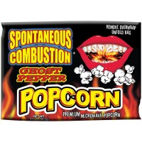 Spontaneous Combustion Ghost Pepper Microwaveable Popcorn!