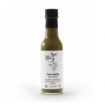 "Seed Ranch Thai Green ""Hot"" Hot Sauce"