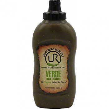 Underwood Ranches Verde - Green Jalapeno Hot Sauce