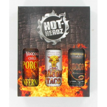 Voodoo Bacon Hot Sauce Gift Pack