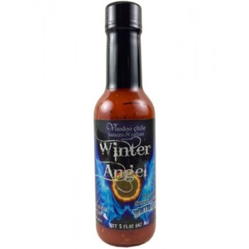Voodoo Chile Winter Angel Hot Sauce With Samuel Adams Winter Lager!