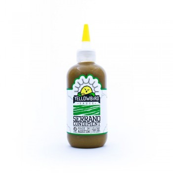 Yellowbird Serrano Pepper Condiment