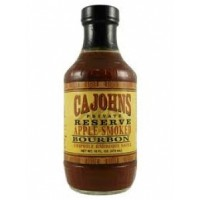 Cajohn's Apple Smoked Bourbon Chipotle BBQ Sauce