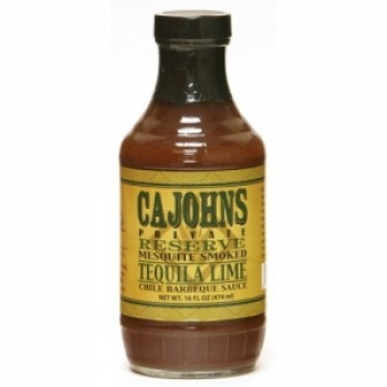 Cajohn's Tequila Lime Chile BBQ Sauce