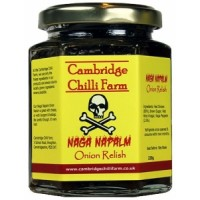 Cambridge Chilli Farm Naga Napalm Onion Relish