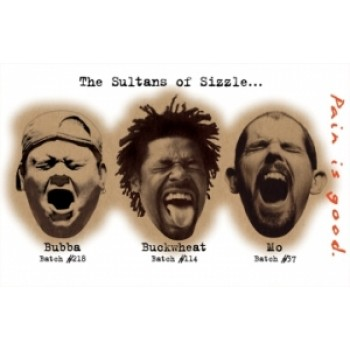 Sultans Of Sizzle Poster