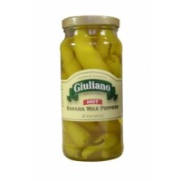 Giuliano's Hot Banana Wax Peppers