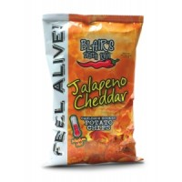 Blair's Death Rain Jalapeno Cheddar Chips 3 X 43g Bags