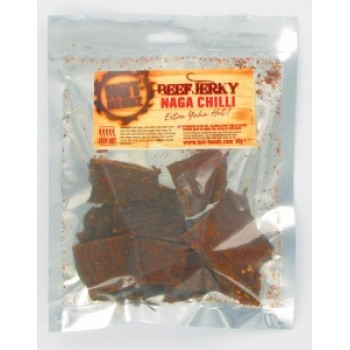 Hot-Headz! Premium Naga Beef Jerky