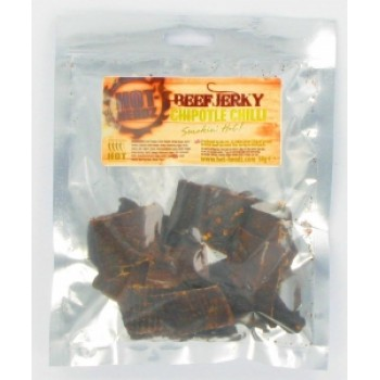 Hot-Headz! Premium Chipotle Beef Jerky