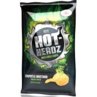 Hot-Headz! Chipotle Mustard Potato Chips 3 X 60g Bags BUY 1 GET 1 FREE!! BBE August 2017 but good for another couple of months