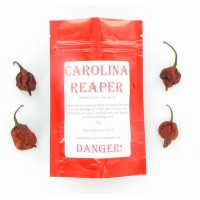 Whole Dried Carolina Reaper Chilli Pods 15g