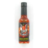 Who Dares Burns! Naga Chipotle Chilli Sauce