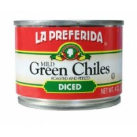 La Preferida Diced Green Chillis 198G NEW PACK SIZE