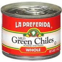 La Preferida Whole Green Chillies