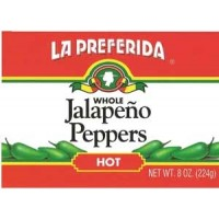 La Preferida Whole Hot Jalapeno Peppers