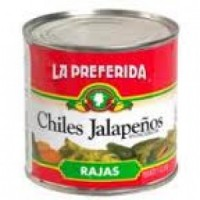 La Preferida Sliced Hot Jalapeno Peppers