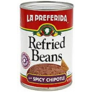 La Preferida Refried Beans With Chipotle