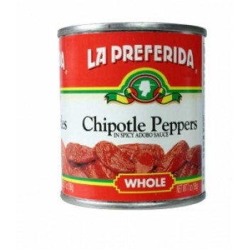 La Preferida Canned Whole Chipotles In Spicy Abobo Sauce